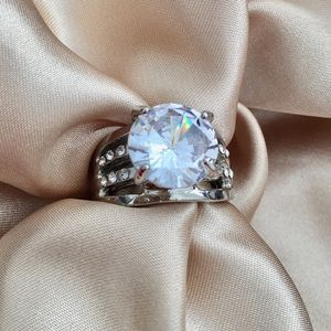 Jewelry - Dazzling CZ Engagement Ring.